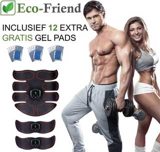 Effectief je spieren trainen met de Ecofriend EMS trainer