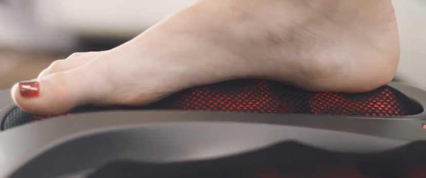 Infrarood voetmassage