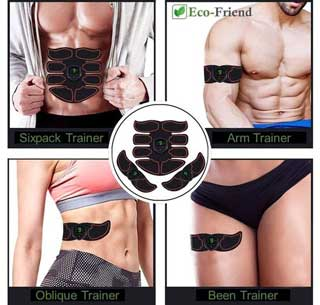 Welke spieren kan je trainen met de Ecofriend spiertrainer?