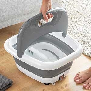 De innovagoods is een opvouwbaar voetenbad