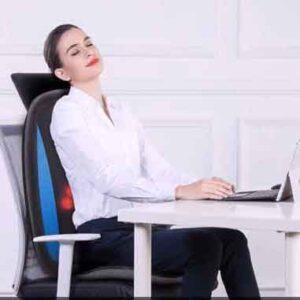Infrarood massage op het werk