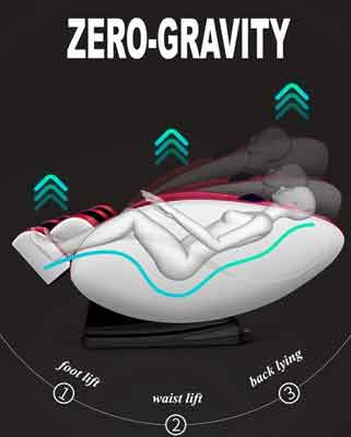 Zero gravity stoel