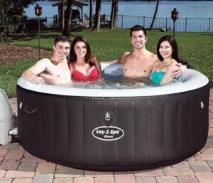 Lay Z Spa Miami whirlpool