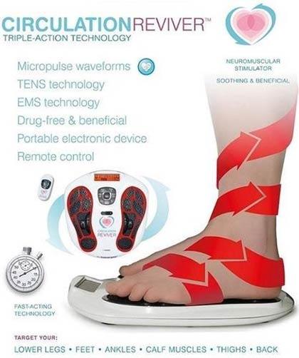Bloedsomloop in de benen en voeten verbeteren
