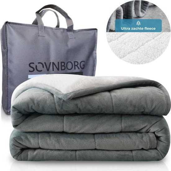 Svonborg deken is gemaakt van katoen