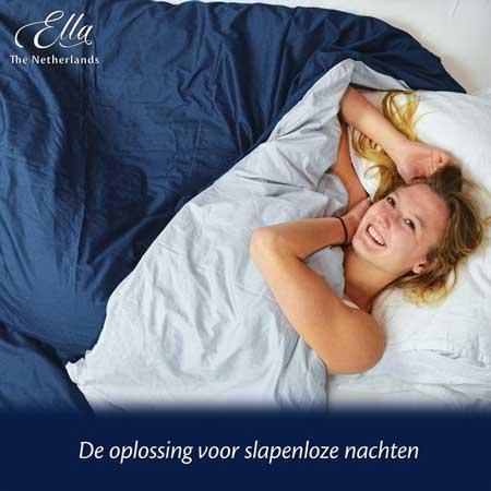 Oplossing bij slapeloze nachten